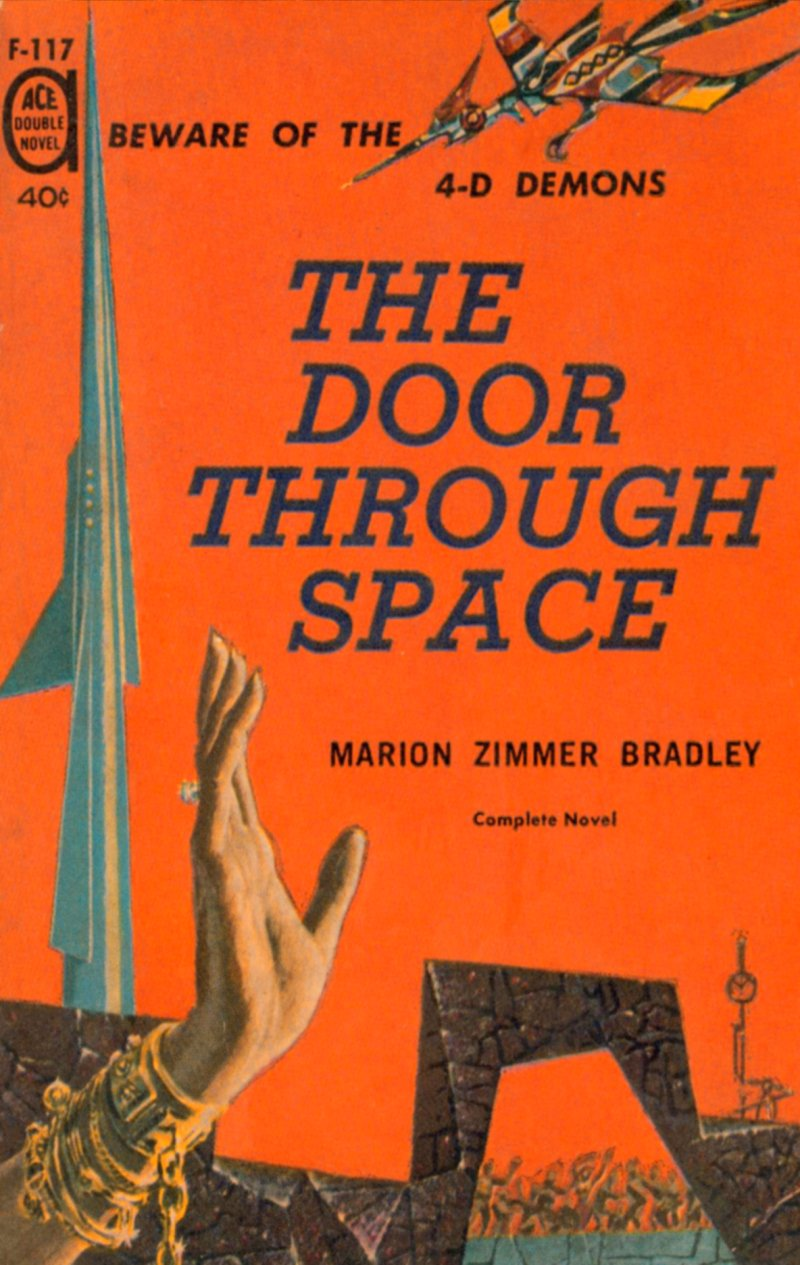 The project gutenberg ebook of the door through space by marion the cover fandeluxe Gallery
